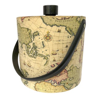 World Map Ice Bucket For Sale