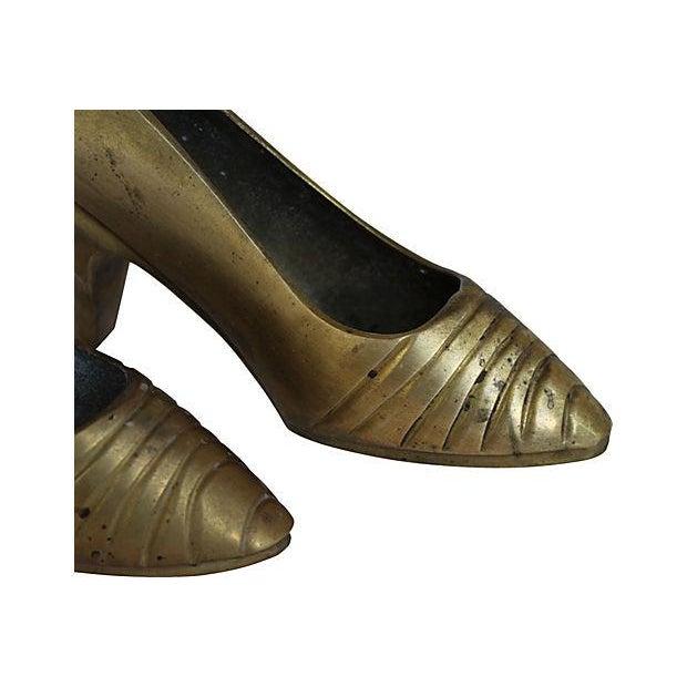 Brass High Heels - Pair - Image 2 of 2