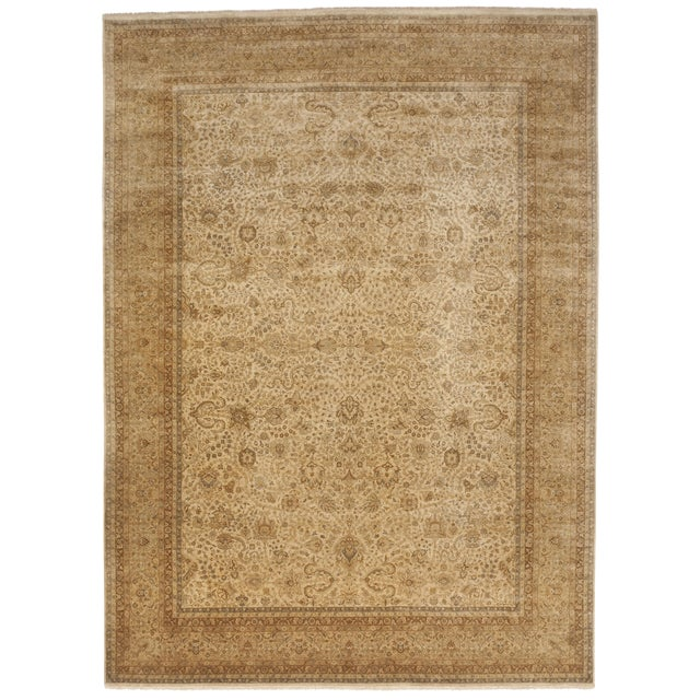 """Handmade Indian Master Piece Rug - 8'8""""x 11'10"""" For Sale"""