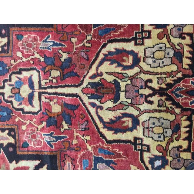 Vintage Turkaman Turkish Rug - 5′ × 8′2″ - Image 11 of 11