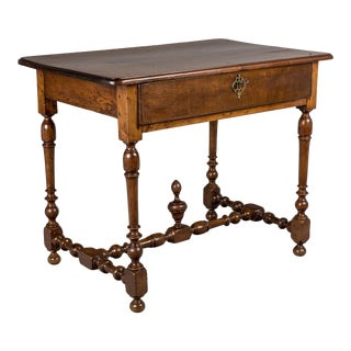 19th Century Louis XIII Style Side Table For Sale