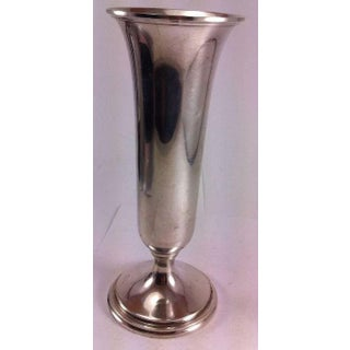 """S. Kirk & Sons 8"""" Sterling Silver Trumpet Vase Preview"""