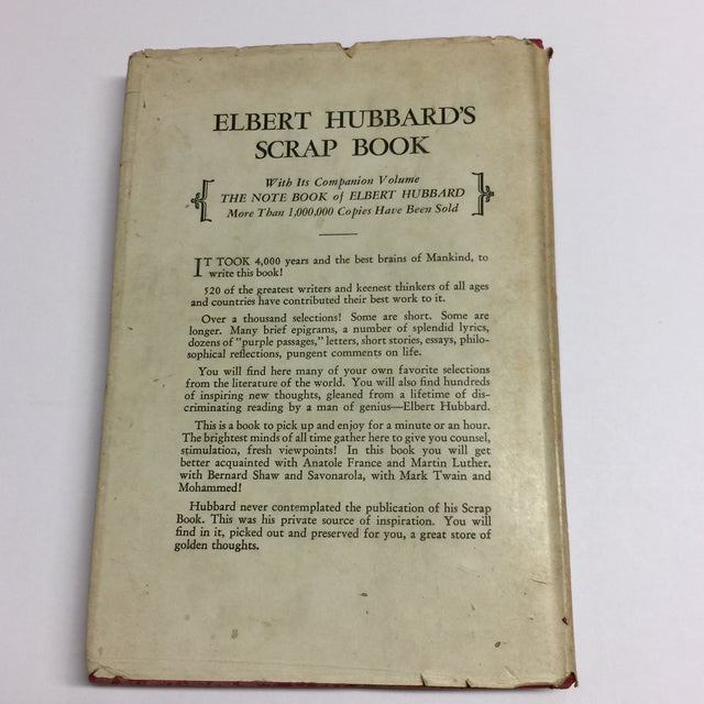 1923 Elbert Hubbard's Scrap Book For Sale - Image 10 of 11
