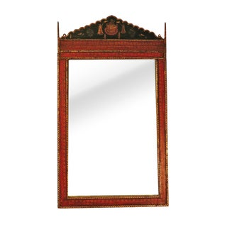 Architectural Indian Mirror For Sale