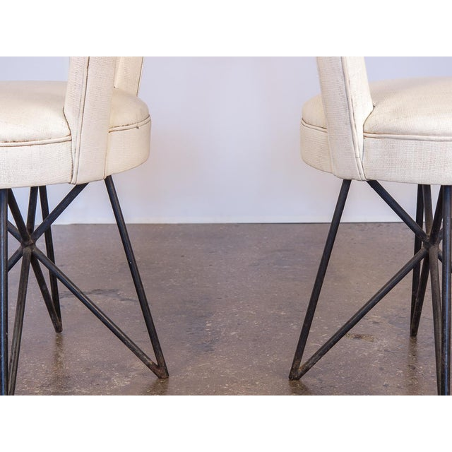 1960s 1950s Occasional Side Chairs - A Pair For Sale - Image 5 of 10
