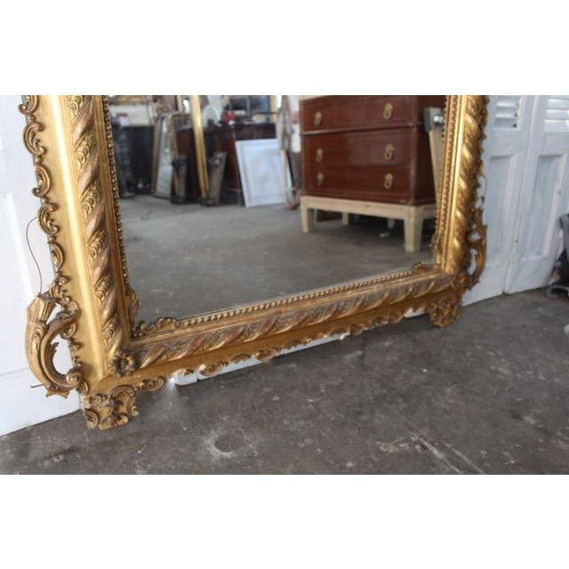 Late 18th Century 18th Century Antique French Louis Philippe Mirror For Sale - Image 5 of 8