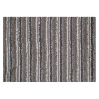 Stark Studio Rugs Contemporary Indian Hand Woven Wool Rug - 10′ × 14′ For Sale