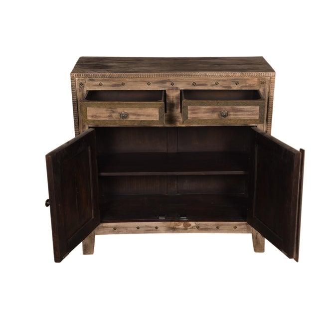 Mango Wood Cabinet Sideboard - Image 6 of 6