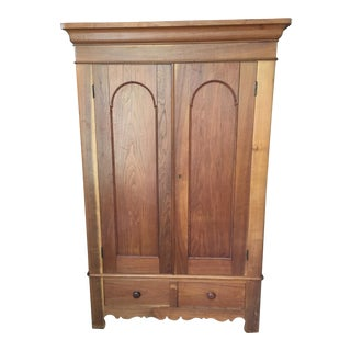 19th Century Early Victorian Armoire