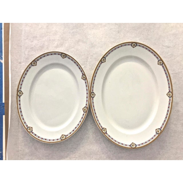 French 1930s Vintage Limoges Bernardaud Serving Platters - A Pair For Sale - Image 3 of 8
