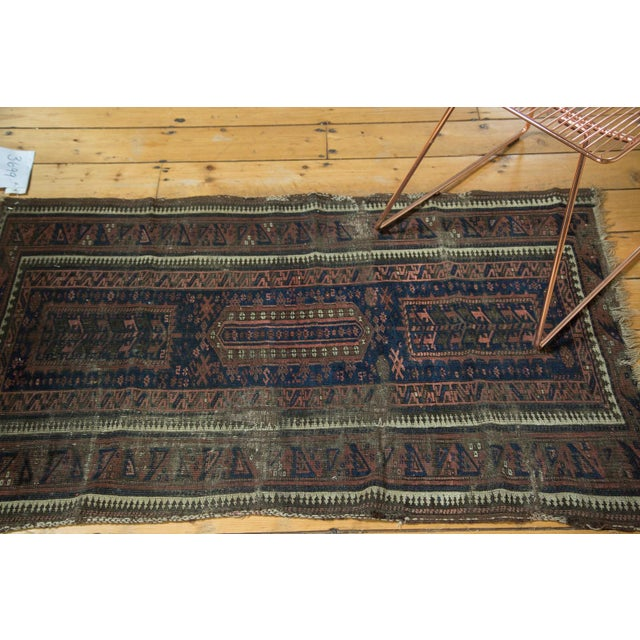 """Textile Antique Belouch Rug Runner - 2'8"""" x 4'8"""" For Sale - Image 7 of 10"""