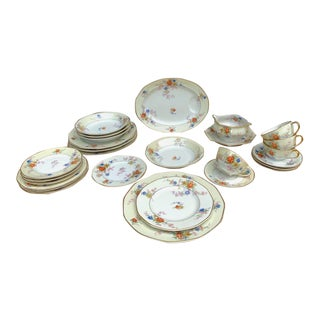 Theodore Haviland Limoges France Jewel China - 26 Piece Set For Sale