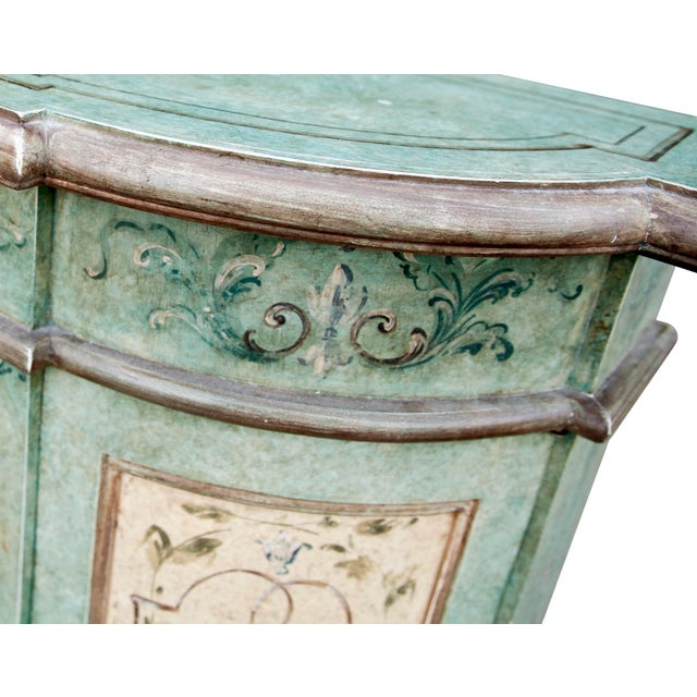 Italian Hand Painted Cabinet For Sale In Los Angeles - Image 6 of 10