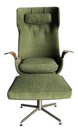 Image of Scandinavian Chair and Ottoman Sets