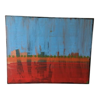 Modern Abstract Landscape Oil Painting