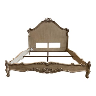 Cal. King Henredon Custom Marseilles Bed Frame For Sale