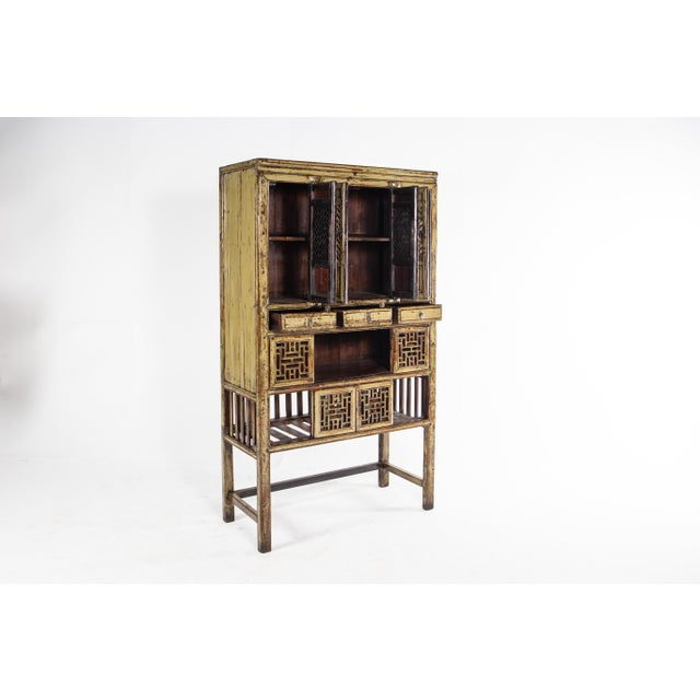 1920s 1920s Vintage Chinese Cabinet For Sale - Image 5 of 11