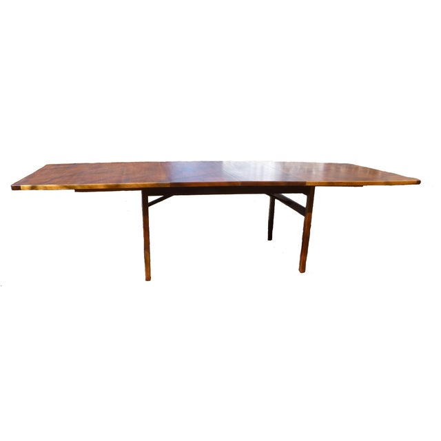 Jens Risom Dining Table With Two Leaves - Image 5 of 7
