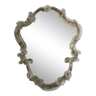 Antique Venetian Wall Mirror For Sale