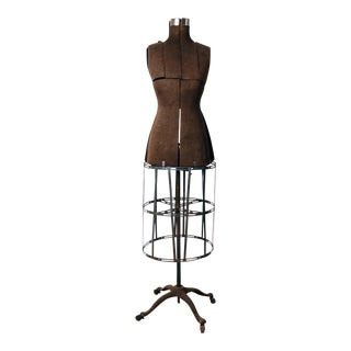 Antique Industrial Acme Dress Form For Sale