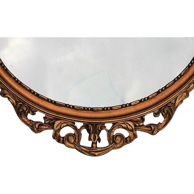 Louis XV Style Carved Giltwood Mirror - Image 5 of 6