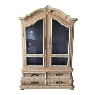 Custom Painted Display Mount Airy Furniture Cabinet For Sale