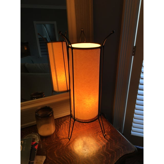 Atomic Underwriters Ul Mid Century Cylinder Accent Lamp