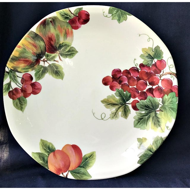 Rustic Royal Doulton Vintage Grape Pattern China Service- 25 Pieces For Sale - Image 3 of 6
