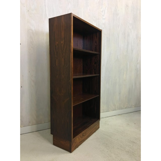 1970s Danish Rosewood Bookshelf By Poul Hundevad For Sale