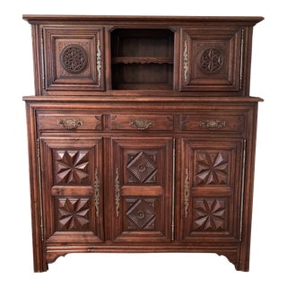 19th Century Antique French Cabinet From Late 1800s For Sale