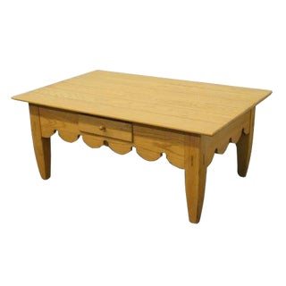 20th Century Contemporary Lexington De Cristofaro Collection Coffee Table For Sale