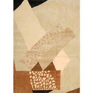 Boccara Hand Knotted Limited Edition Artistic Rug Design N.15 For Sale