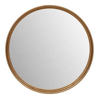 Keith Mirror, Antique Brass For Sale