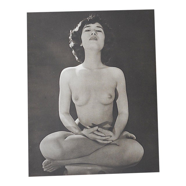 Vintage Silver Gelatin Nude Photograph - Image 1 of 3