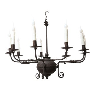 18th Century American Chandelier For Sale
