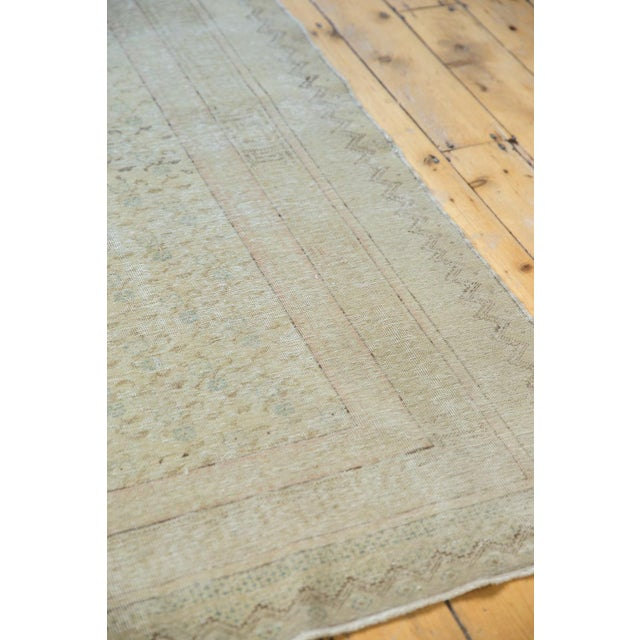 "Vintage Distressed Kayseri Carpet - 6'6"" X 9'4"" For Sale In New York - Image 6 of 13"