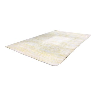 Mid-Century Rya Rug - 9′ × 14′ For Sale