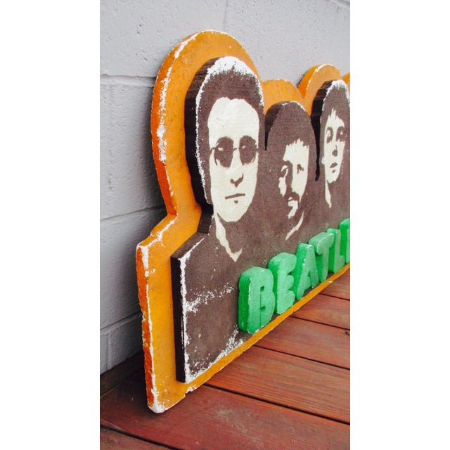 Beatles Authentic Capitol Record Promo Display 1970s Wall Decor Record Vinyl Collectors Beatles Fans - Image 8 of 8