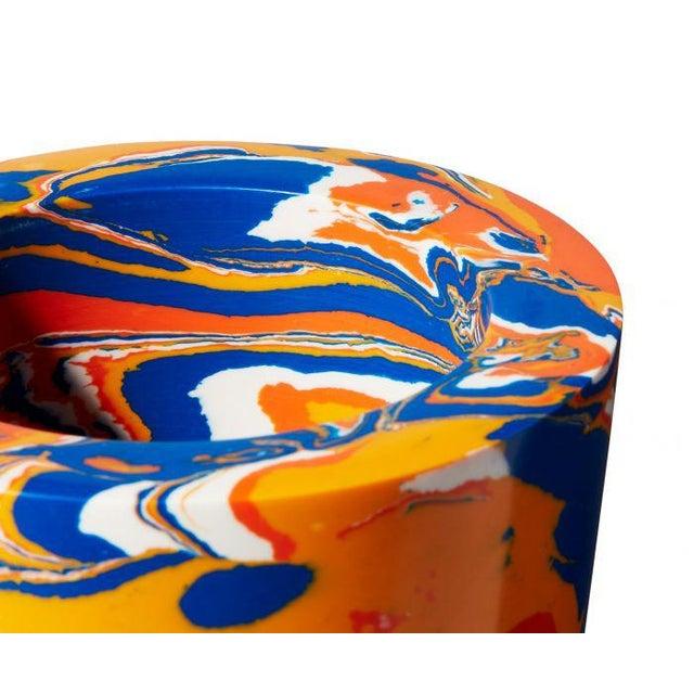 Tom Dixon Swirl Stem Primary Colors Vase For Sale - Image 4 of 7