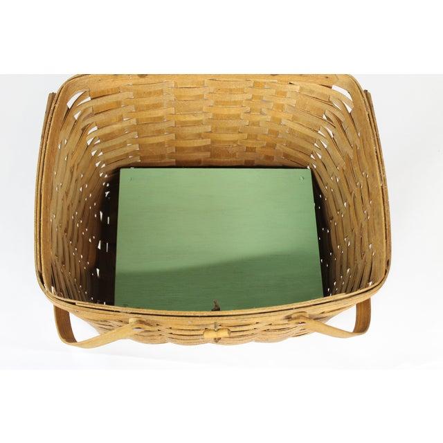 Vintage Longeberger Picnic Basket - Image 7 of 10