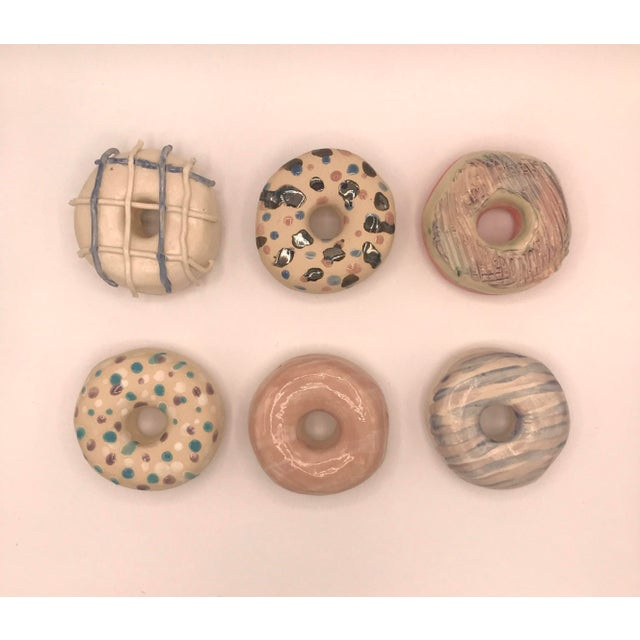 Surface Ceramics Wall Donuts - Set of 6 For Sale - Image 9 of 9