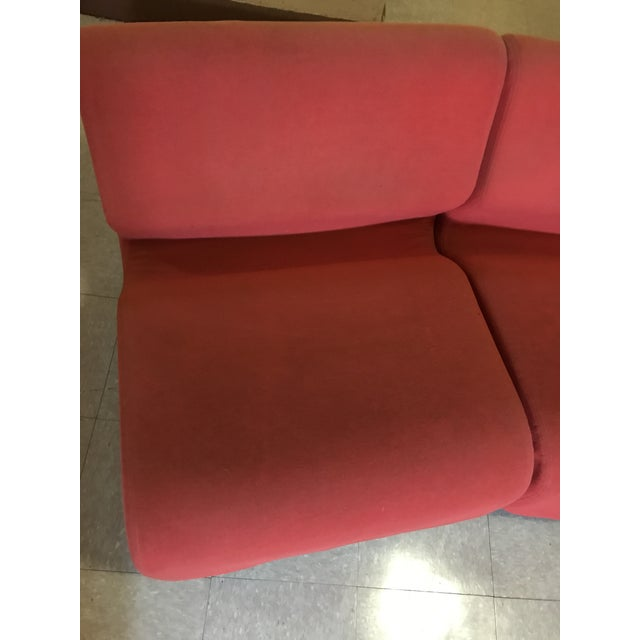Textile Orange Herman Miller Chadwick Modular Seating For Sale - Image 7 of 11