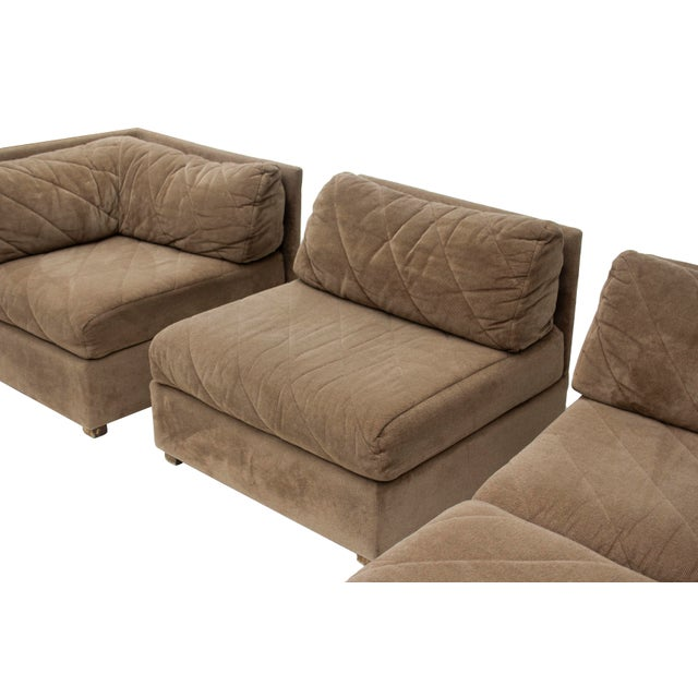 Modular Sectional Sofa by Selig, 5 Pieces For Sale - Image 9 of 13