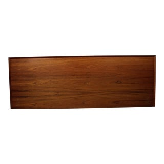 Mid-Century Danish Modern Teak King Size Headboard For Sale