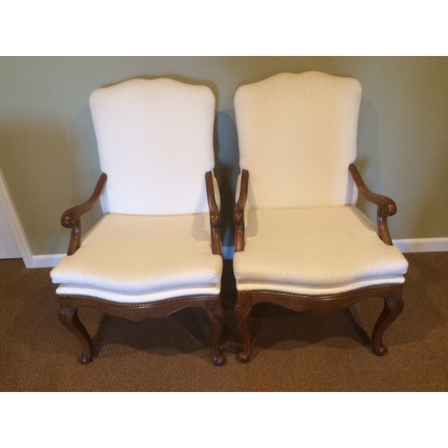 Baker French Country Dining Chairs - Set of 6 - Image 6 of 6