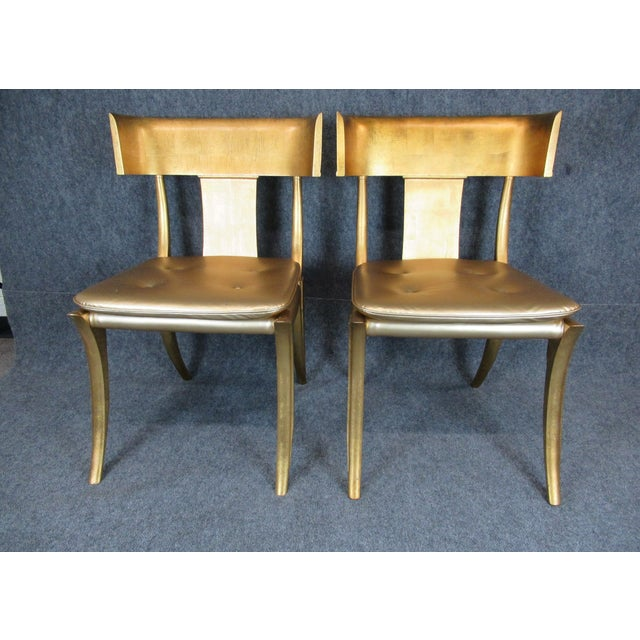 These light weight chairs are study and the construction goes back through the ages to ancient Greece. The curved, tapered...