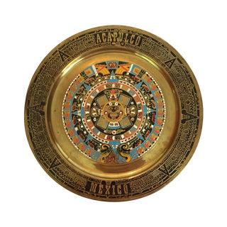 Brass Acapulco Plate