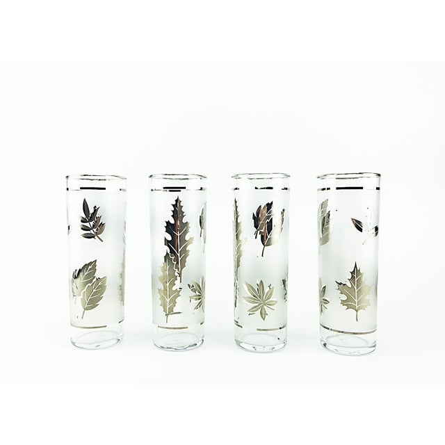 Libbey Silver Leaves High Balls - Set of 4 - Image 2 of 4