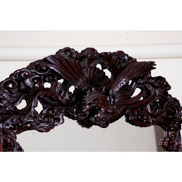 Mid 19th Century Japanese Carved Chest & Mirror For Sale In San Francisco - Image 6 of 8