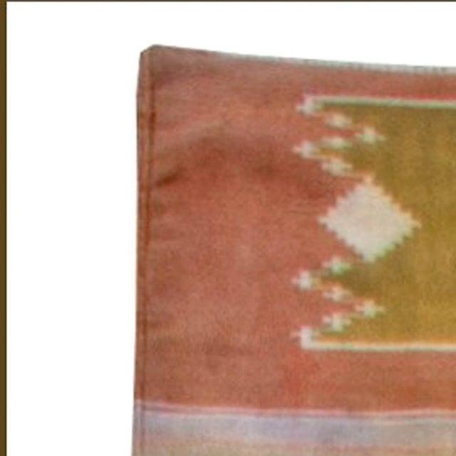 Mid-Century Modern Vintage Indian Dhurrie Runner For Sale - Image 3 of 7